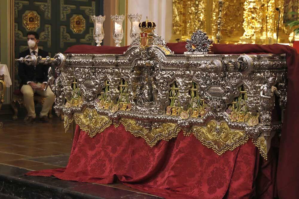 Bendición del nuevo respiradero del paso de la virgen de la Merced