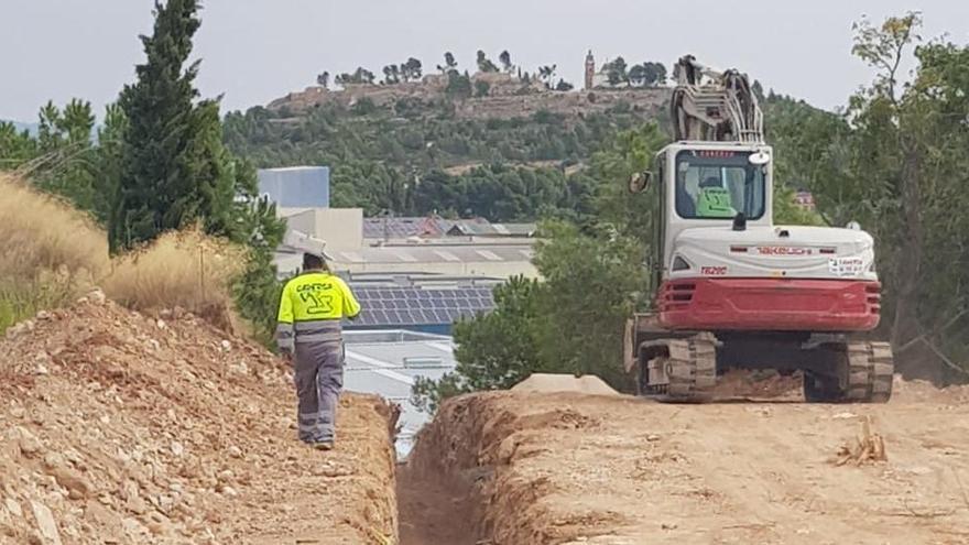 Comienzan las obras para llevar agua potable a Chiva