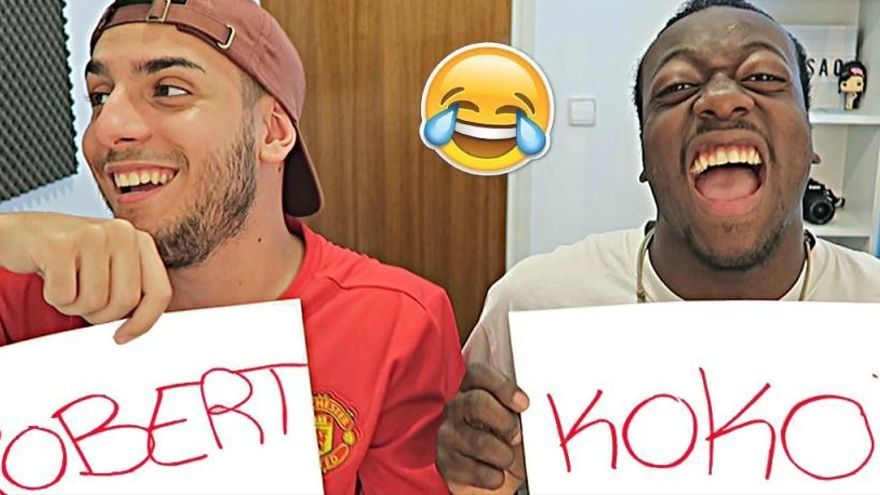 Robert PG i Koko DC, dos youtubers gironins amb milions de seguidors