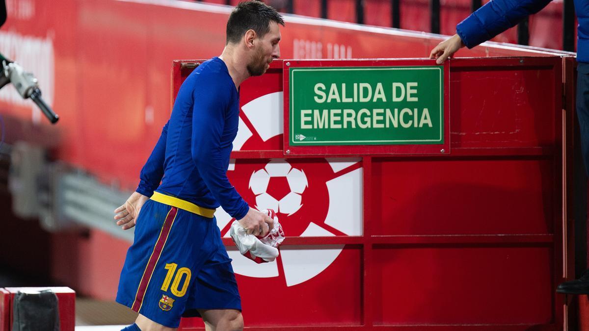 Lionel Messi deixa el FC Barcelona