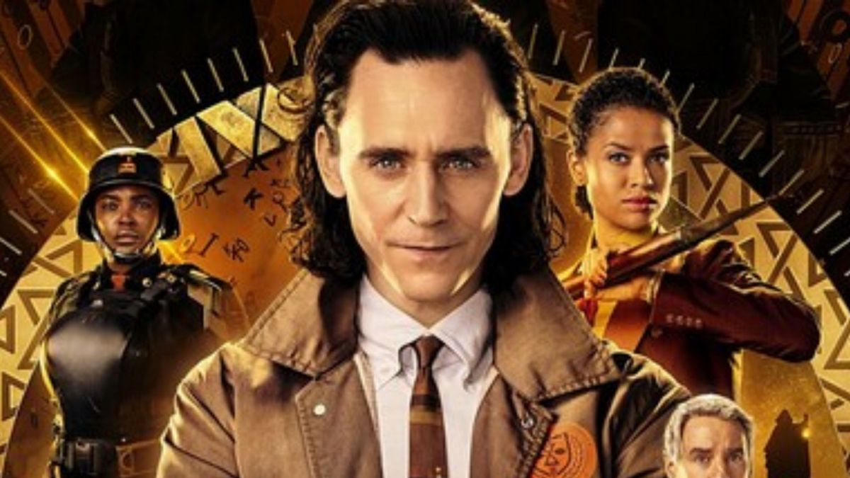 Cartel promocional de la serie de Disney dedicada a Loki.