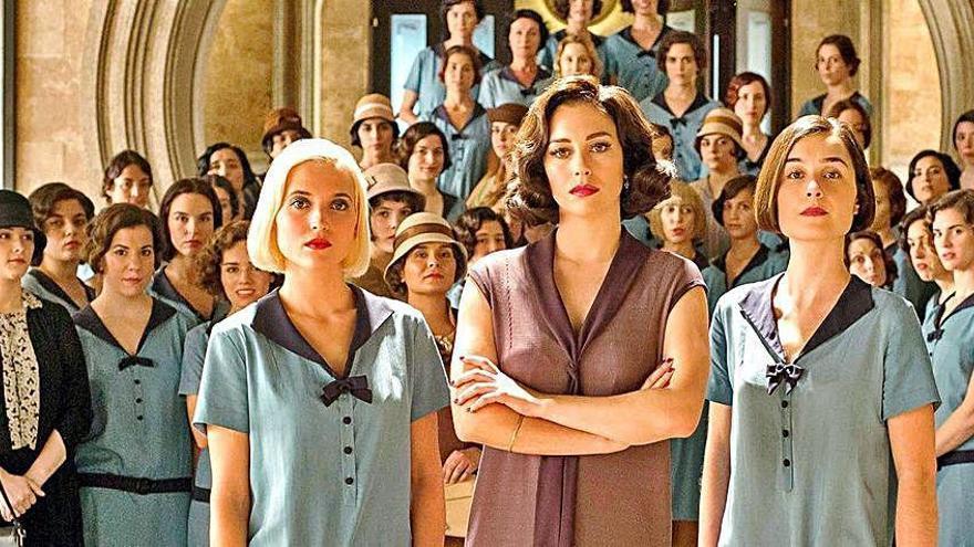 La temporada de despedida de la serie 'Las chicas del cable' llega hoy a Netflix