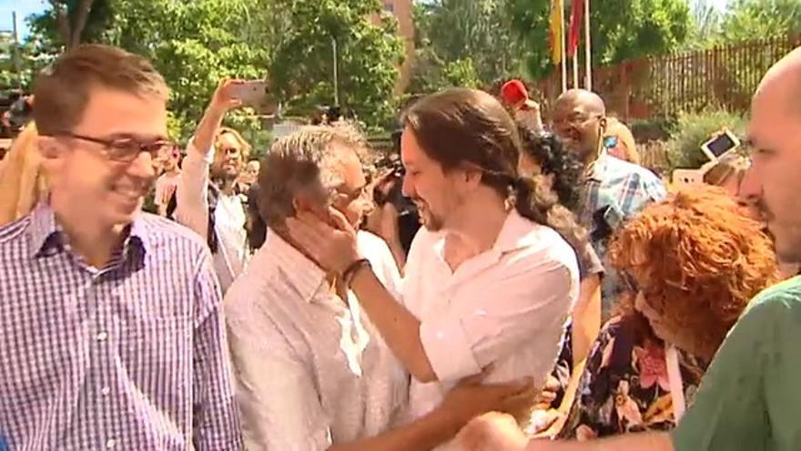 Vídeo | Así ha votado Pablo Iglesias
