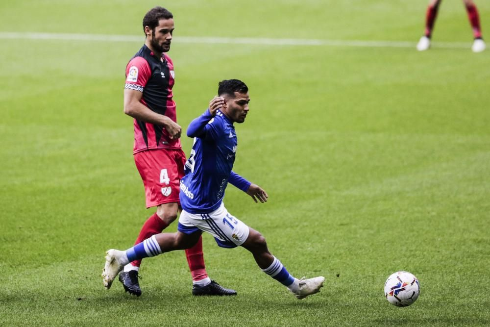 Real Oviedo - Rayo Vallecano, en imágenes