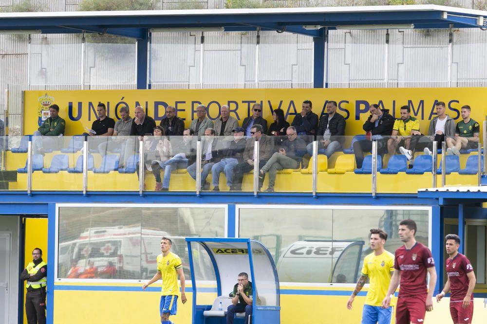 05.05.19. Las Palmas de Gran Canaria. Fútbol segunda división B temporada 2018-19. UD Las Plamas Atlético - Pontevedra. Anexo Estadio de Gran Canaria . Foto Quique Curbelo    05/05/2019   Fotógrafo: Quique Curbelo