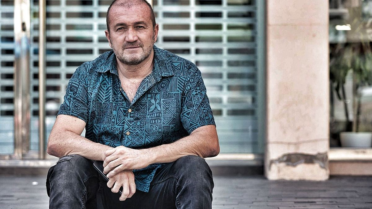 Miguel Ojeda, representante de Elite Taxis, que logró el 71% de apoyos del sector hace diez días.