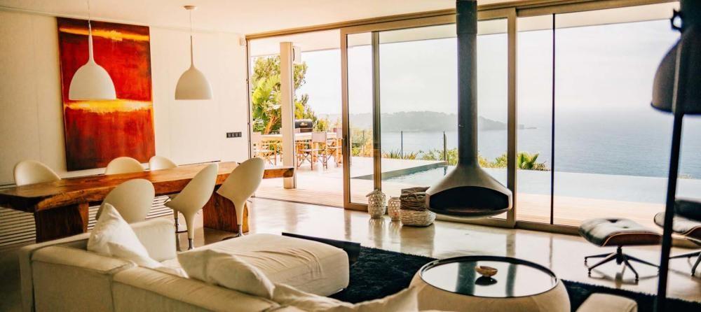 La villa se alquila a unos 50.000 euros a la semana