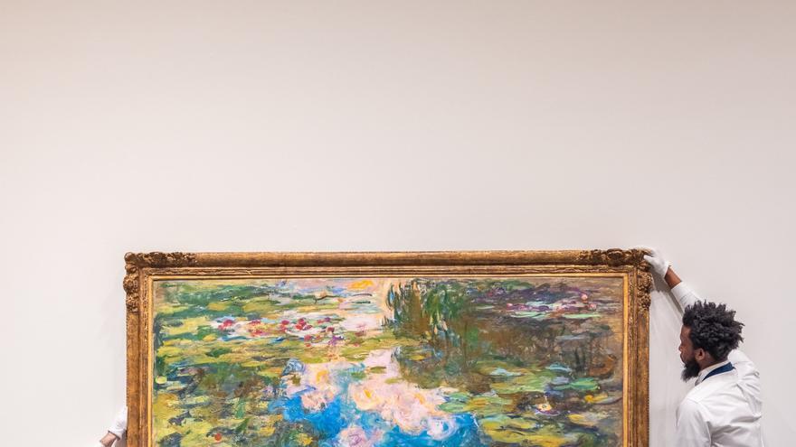 Una pintura de Monet se subasta por más de 70 millones de dólares en Nueva York