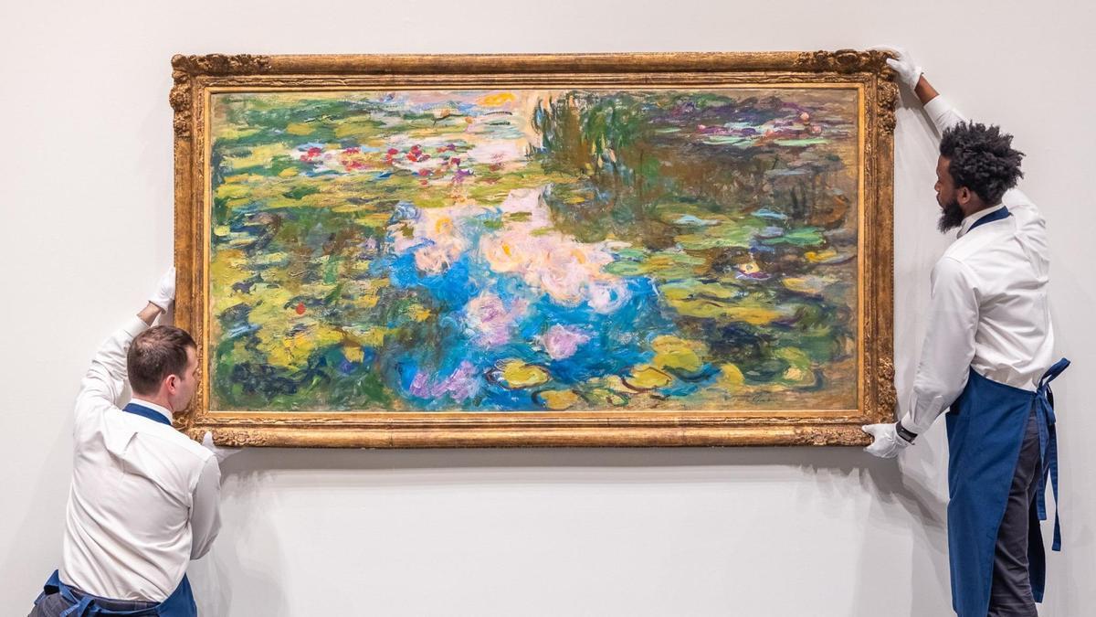 'Le Bassin aux nymphéas', de Monet.