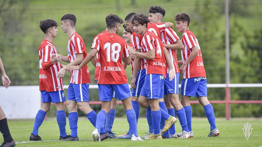 El juvenil A del Sporting sufre una histórica derrota frente al Celta de Vigo: 11-0