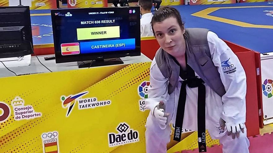 Tania Castiñeira campeona de España y Ada Hermelo subcampeona