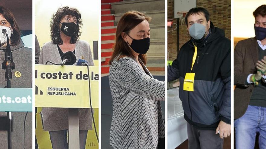 Més de la meitat dels diputats gironins s'estrenaran al Parlament