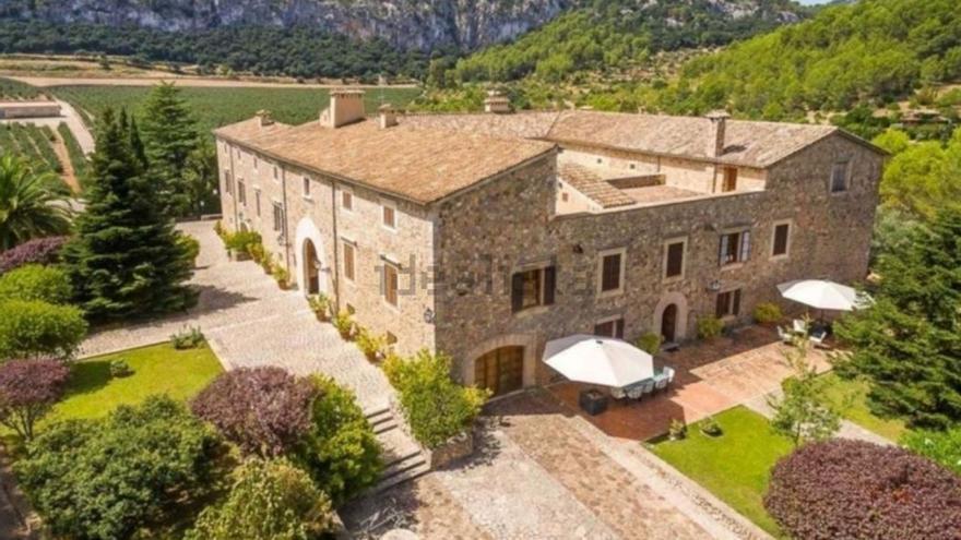 Tres de las cinco casas más caras que vende Idealista están en Mallorca