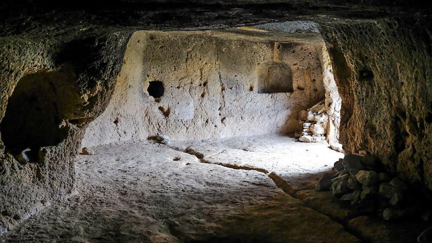 La ciudad rehabilitará el yacimiento de las cuevas de Lomo de San Gregorio