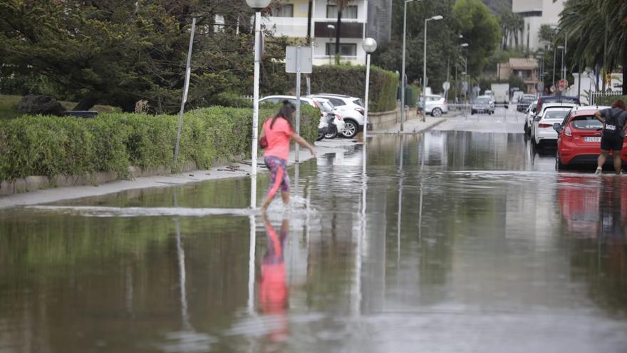 Las tormentas dan fin a 102 noches tropicales consecutivas en Palma