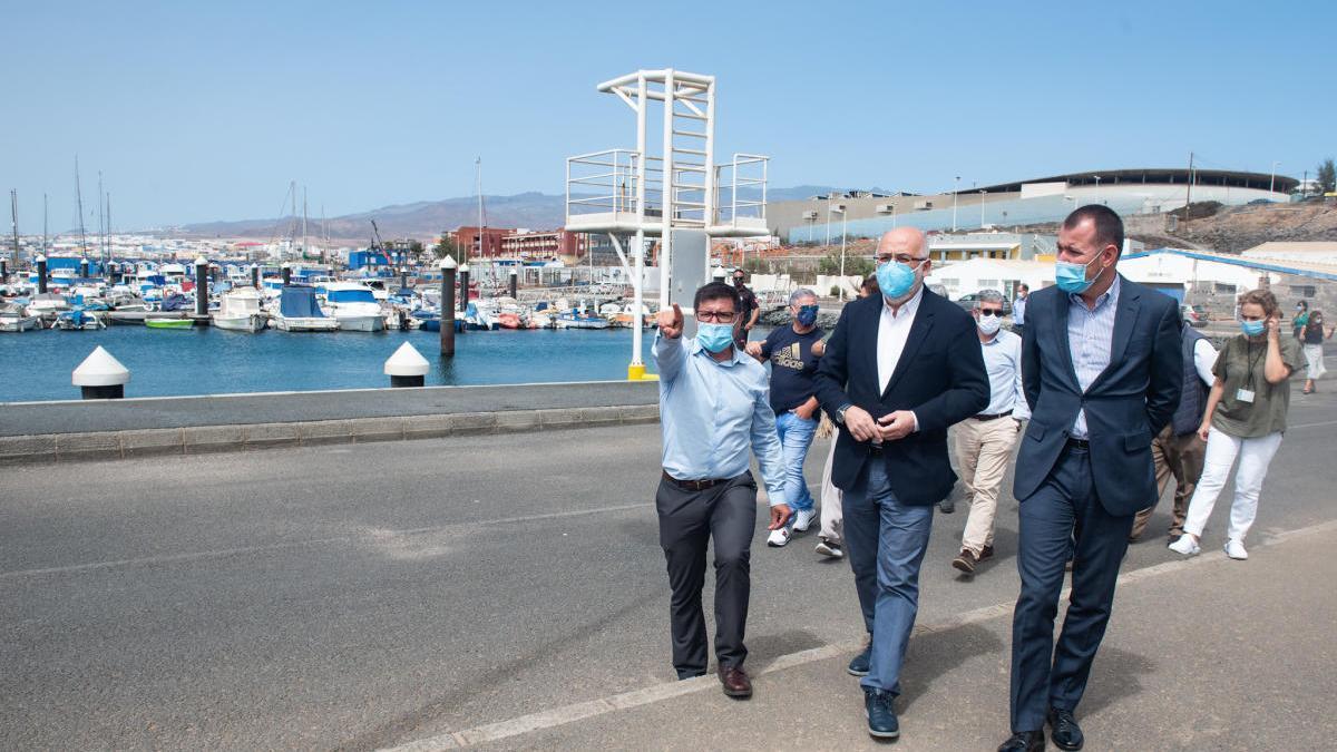 El Cabildo invertirá 1,6 millones en el Puerto de Taliarte