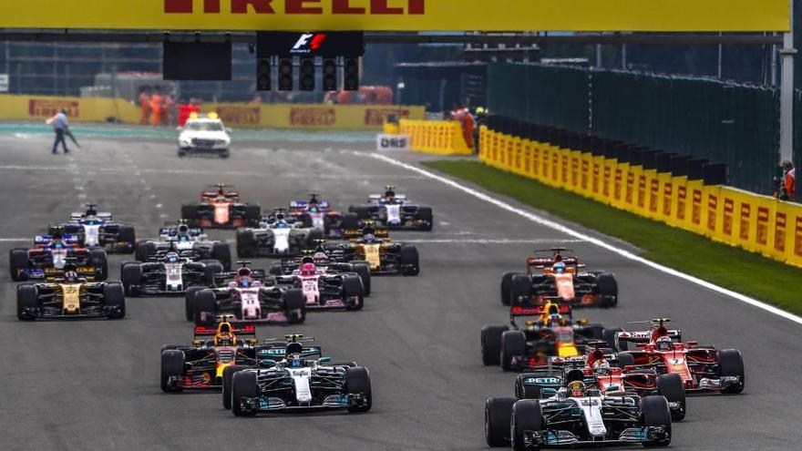 Lewis Hamilton logra la victoria en el GP de Bélgica