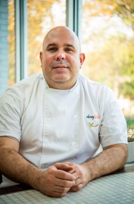 El chef Danny Lledó
