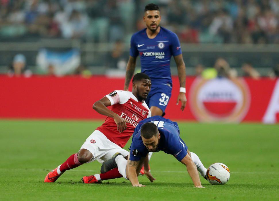 Final de la Europa League: Chelsea - Arsenal
