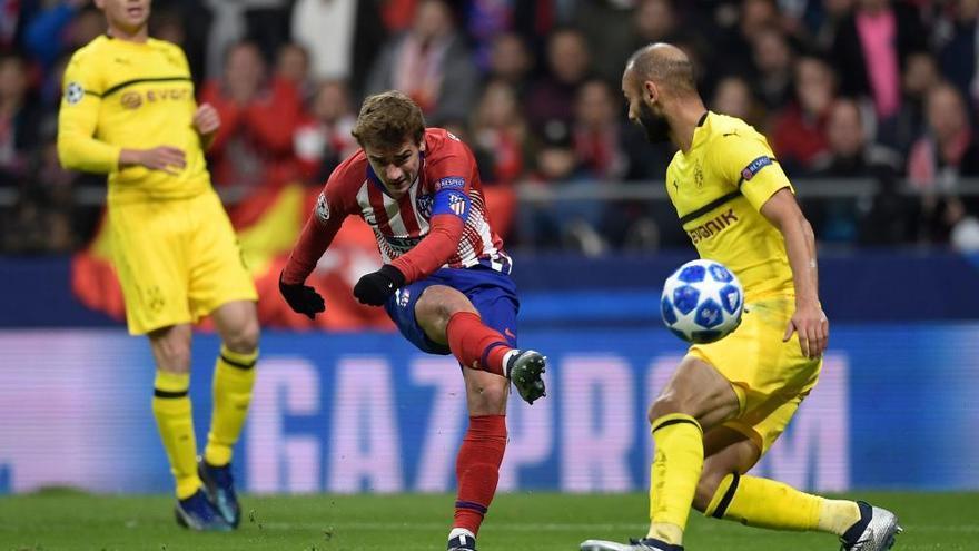 Saúl y Griezmann dan la victoria al Atlético