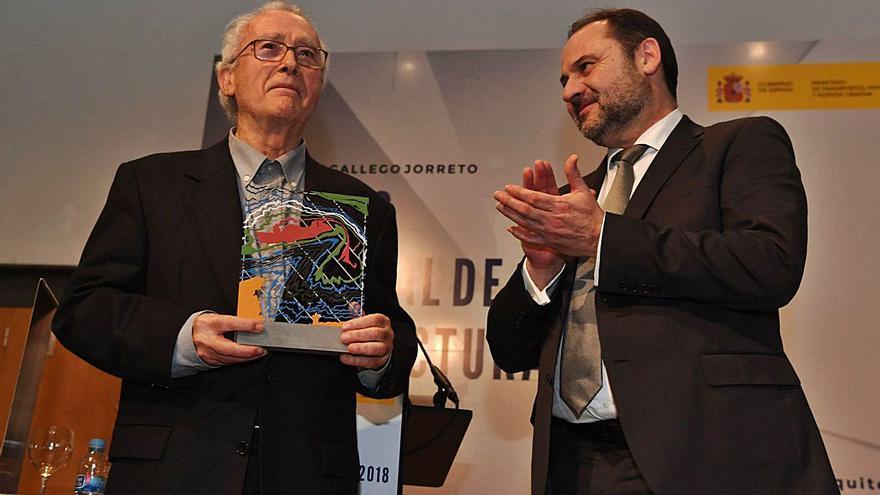 La Fundación Manolo Paz premia al arquitecto Gallego Jorreto