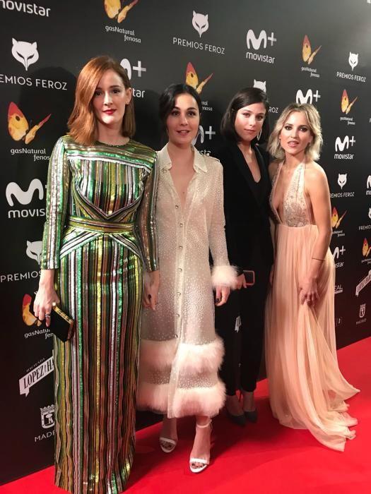 Ana Polvorosa, Nadia de Santiago, Iria del Río y Ana Fernández