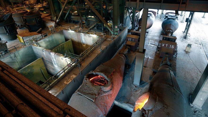 Un maquinista de los trenes de Arcelor fallece al quedar atrapado entre una locomotora y un vagón