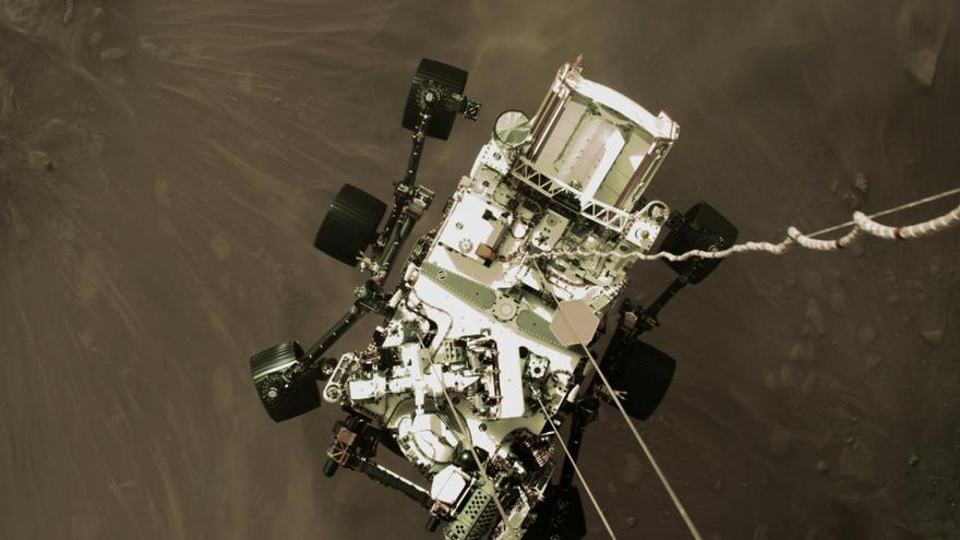 Primera imágenes en color de Marte desde la Perseverance