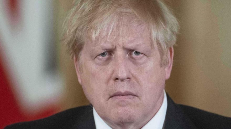 """Boris Johnson """"se recupera bien y está de buen humor"""""""