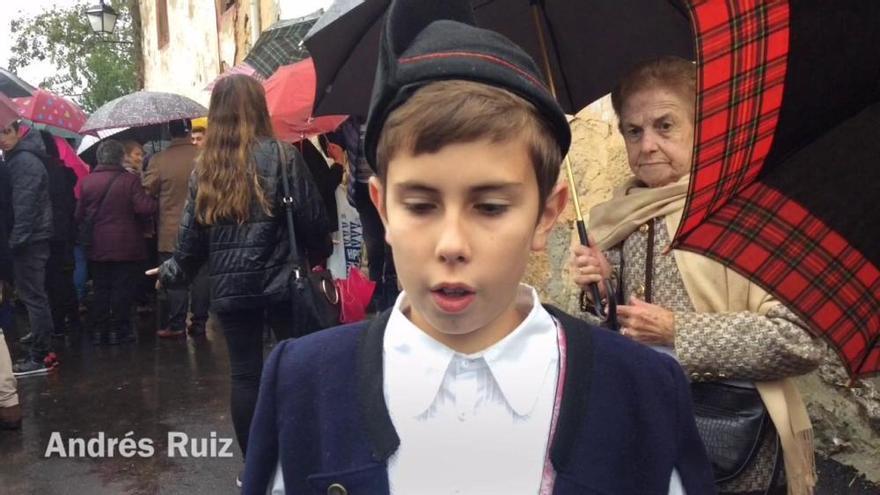 Premios Princesa de Asturias: Así recibieron los niños a los Reyes en Asiegu, Pueblo Ejemplar de Asturias 2019