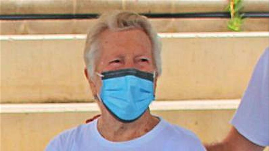 Consuelo Danso, de 94 años, reconocida como las decana de  Las Rehoyas