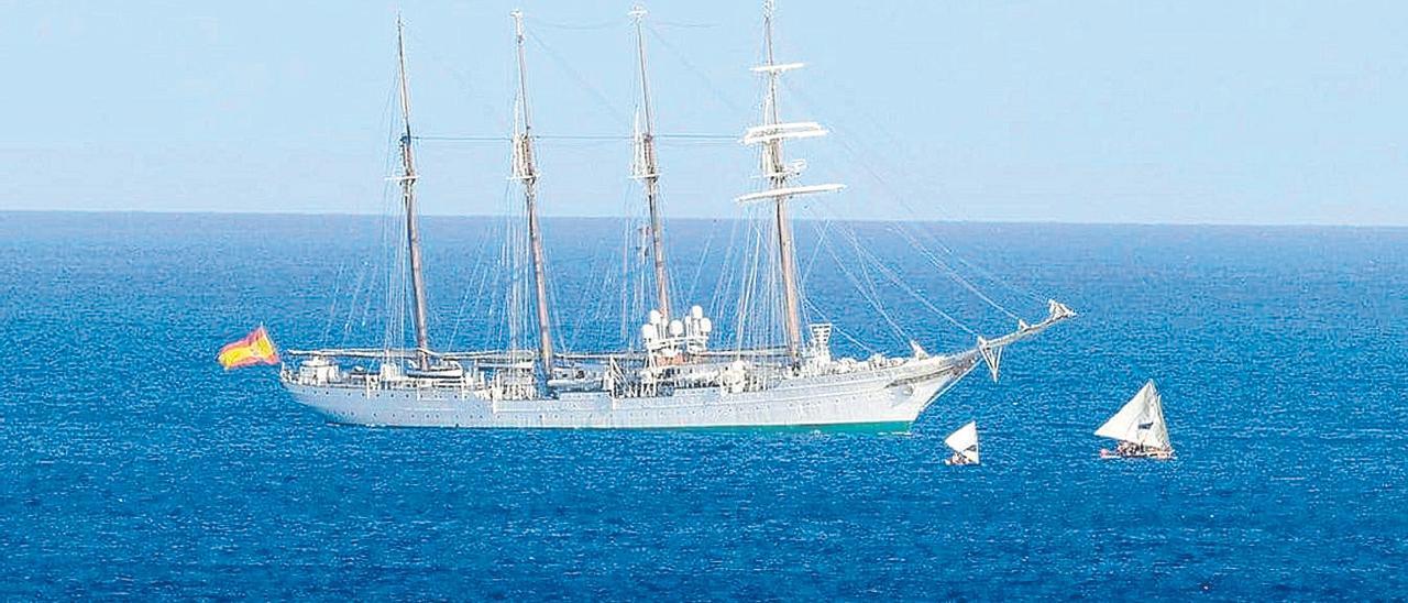 El buque 'Elcano' arriba a la Isla de Guam en el 'V Centenario de la primera vuelta al mundo'