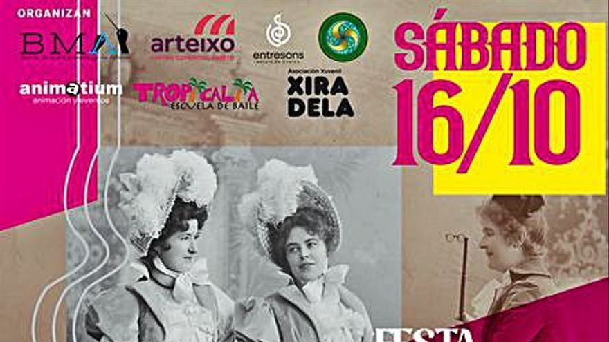 El Centro Comercial Aberto organiza el sábado una Festa Século XX