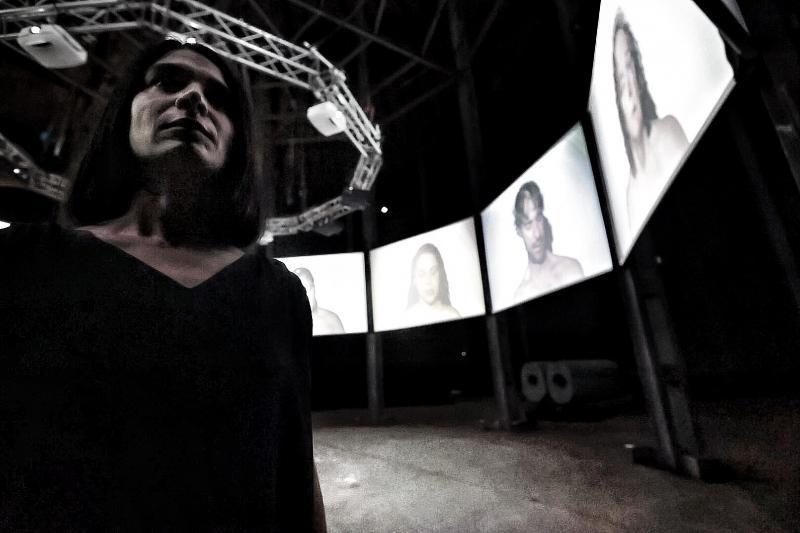 Exposición de Yapci Ramos en el Espacio Cultural El Tanque