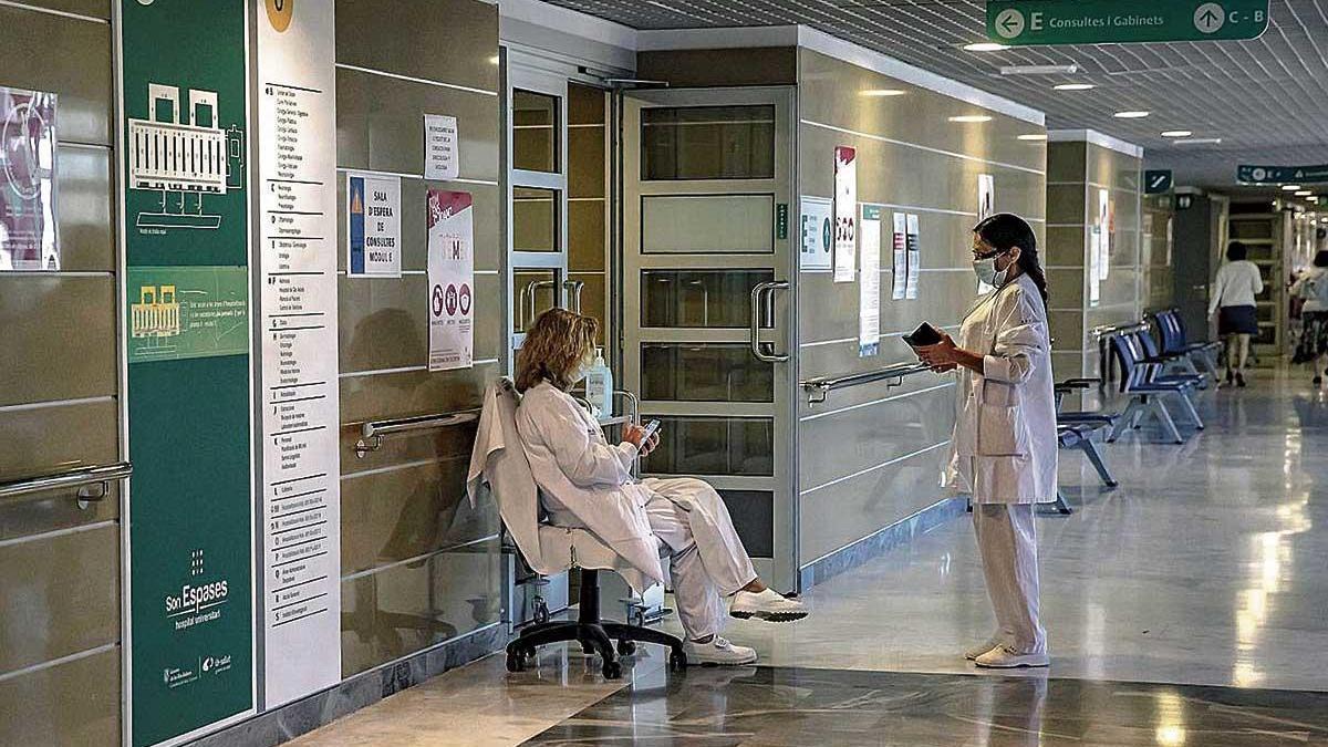 Ambiente sanitario de Son Espases.