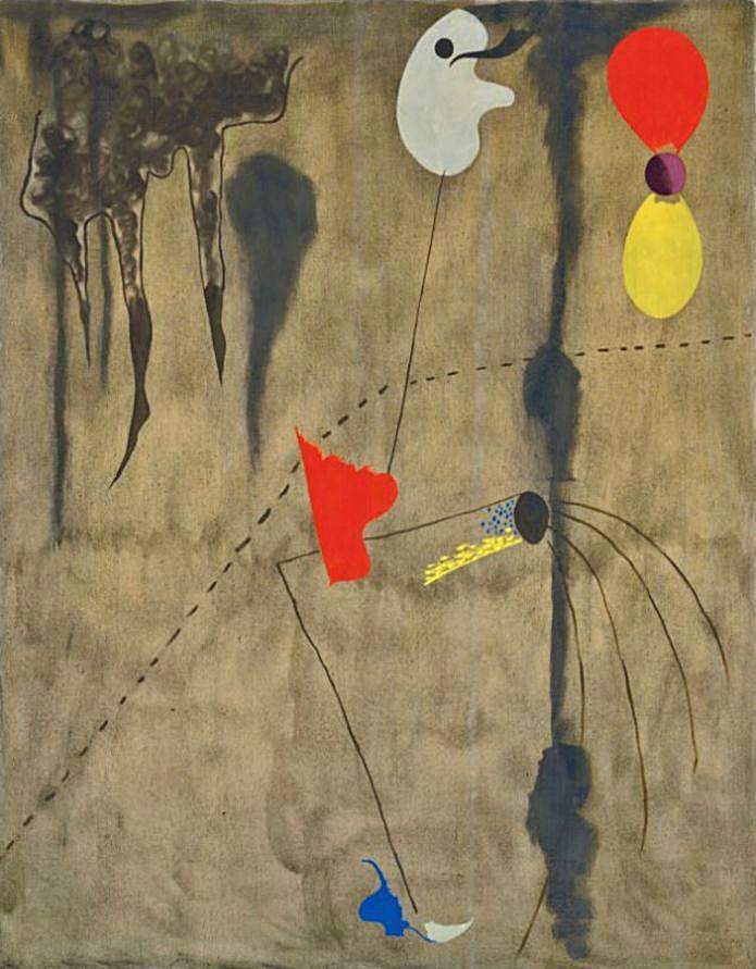 'Peinture', de Joan Miró.