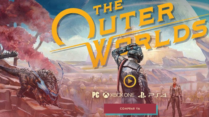 'The Outer Worlds' llegará el 6 de marzo a Switch