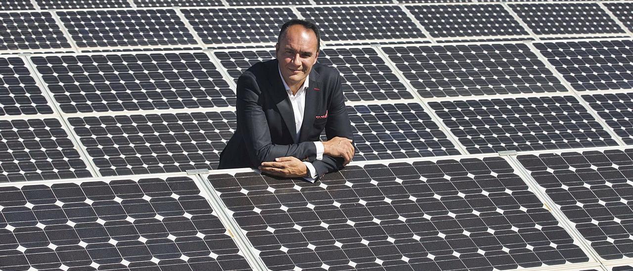 Marcos J. Lacruz, presidente de la patronal valenciana de energías renovables. | FERNANDO BUSTAMANTE