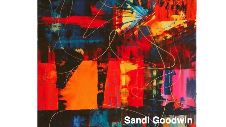 Explosión de colores de Sandi Goodwin