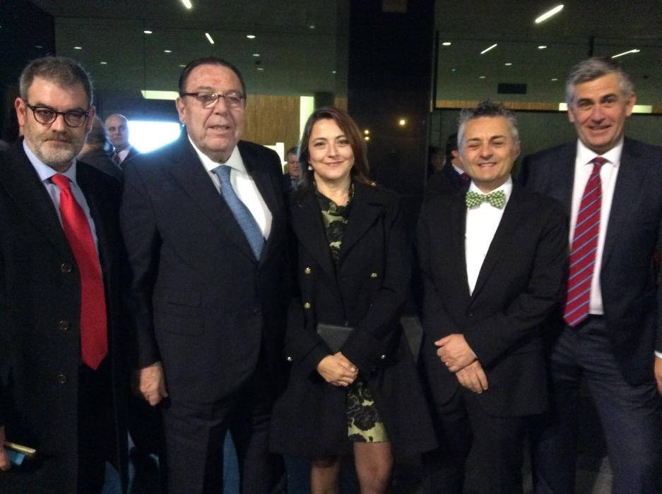 Jorge Fauró, Enrique Garrigós, Isabel Vicente, Javier Izquierdo y Santiago Lumbreras