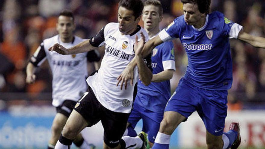 El Valencia se aleja de Europa tras empatar a uno con el Athletic