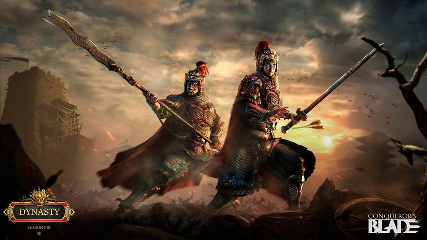 Repasamos todas las novedades de 'Dynasty', la nueva temporada de 'Conqueror's Blade'