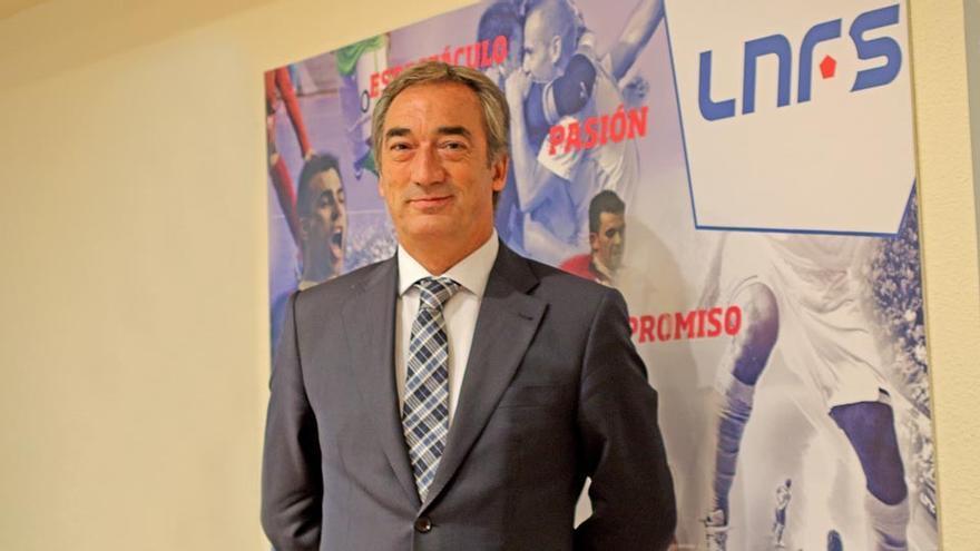 Javier Lozano, al frente de la LNFS hasta 2025