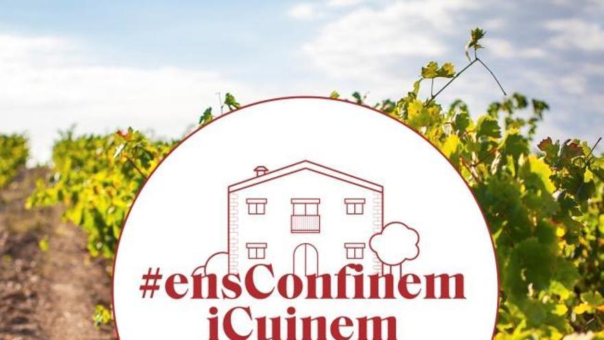 """""""Ens confinem i cuinem"""": la campanya d'Empordàlia per passar el confinament"""