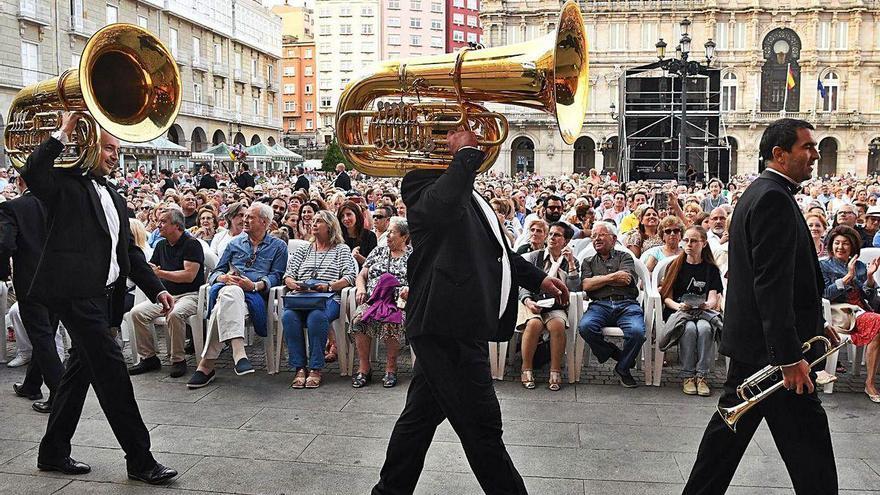 Cuenta atrás para unas fiestas de agosto exprés en A Coruña