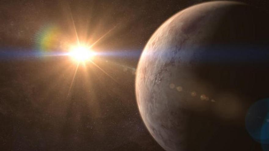 Hallan una supertierra potencialmente habitable