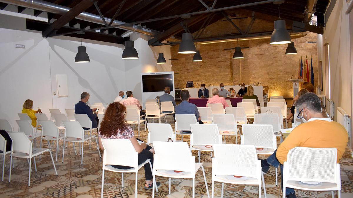Reunión prevención incendios forestales con alcaldes del Camp de Túria