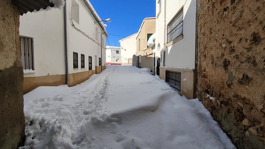 Sinarcas, colapsado por la nieve de Filomena
