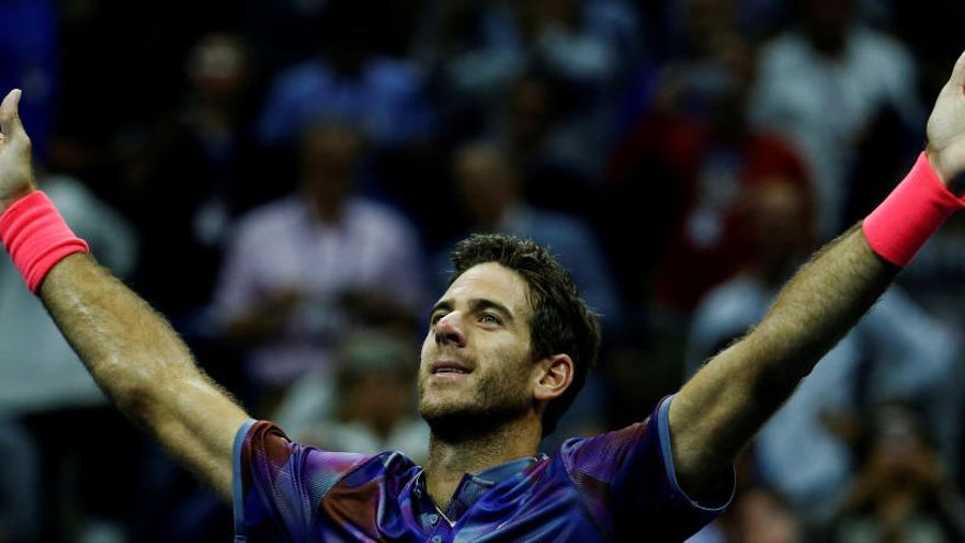 Del Potro tumba a Federer y se medirá a Nadal en 'semis'