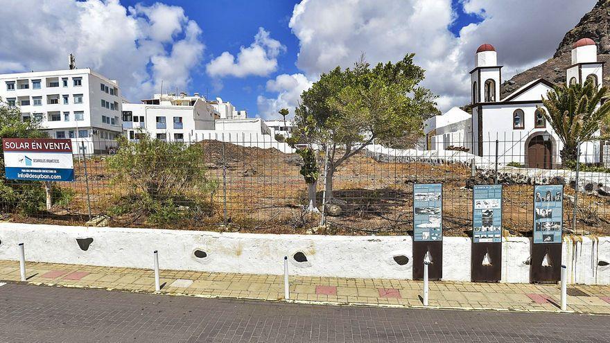 Agaete proyecta construir una gran plaza en el solar anexo a la ermita de Las Nieves
